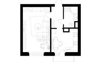 Обустраиваем маленькую квартиру: 36 квадратных метров