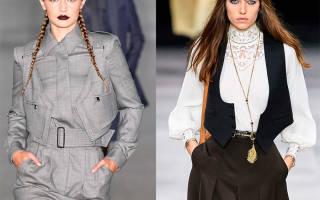 Женские жилетки: тенденции 2020 года