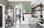 Обои на кухню: 50 фото идей,как преобразить ваш интерьер
