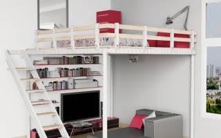 Идея недели: кровать на тросах