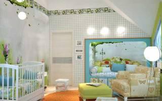 3 главных правила оформления комнаты новорожденного