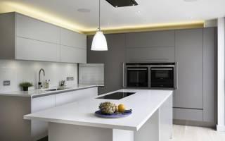 Кухня недели: минималистичная, тотально белая