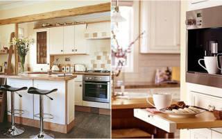 10 быстрых советов, как сделать маленькую кухню удобной