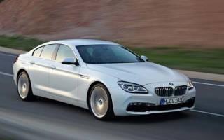 Новый BMW 6-series 2020 года
