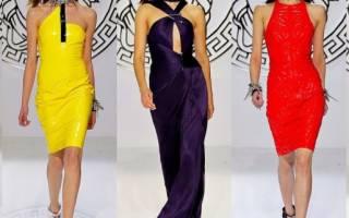Модные яркие платья: 70 стильных образов в насыщенных тонах