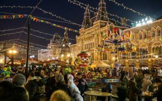 5 новогодних ярмарок в Москве