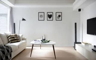 Удачный микс: минимализм и скандинавский стиль в одном интерьере