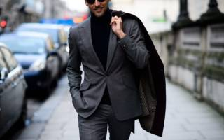 Стильная мужская одежда осенне-зимнего сезона 2020-2020