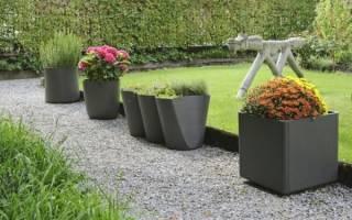 Идеи использования цветочных горшков для садово-дачного декора