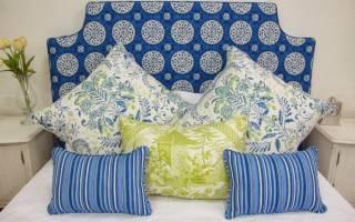 Идеи изготовления мягкого изголовья кровати