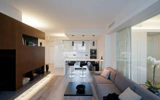 Дизайн трешки: уютная квартира с панорамными окнами в Москве