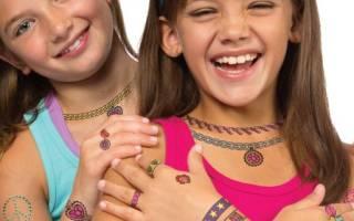 Детские татуировки: где купить, как сделать, оригинальные варианты на фото