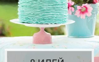Идеи необычного празднования дня рождения