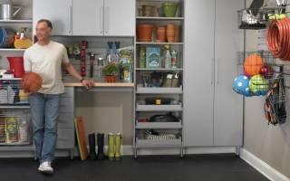 3 лучших совета по обустройству гаража в качестве кладовки