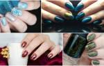 Новогодний маникюр 2020: оригинальные идеи дизайна ногтей