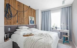 Натяжные потолки в спальне: фото дизайна