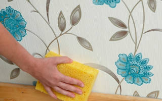 Как удалить жирные пятна с обоев в домашних условиях