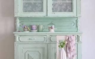Декор старого шкафа