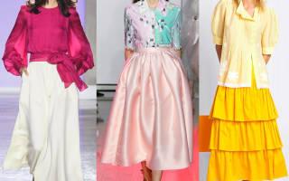 Длинные юбки: тренды сезона