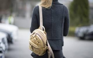 Модные мини-рюкзаки: современные модели для самых стильных образов