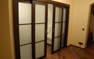 Межкомнатные двери на рельсах и роликах с фото