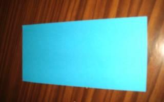 Лотос из бумаги за пару минут