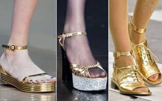 Модные босоножки и сандалии