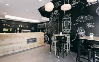 33 необычные идеи: грифельные доски в интерьере кухни