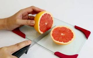 Отличные способы, чтобы быстро очистить грейпфрут