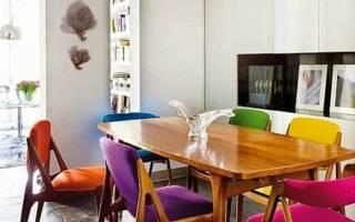 Миксуем разные стулья в интерьере: 8 идей от профи