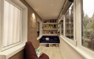 Балкон недели: как оформить лоджию 6 квадратных метров