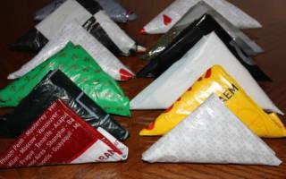 Интересные идеи, как хранить пакеты, чтобы вытягивать один за другим