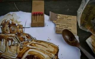 Корбан Лундборг свои воспоминания рисует растворимым кофе