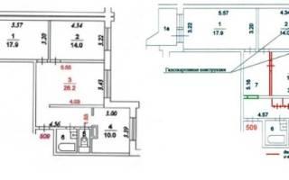 Грамотная планировка двухкомнатной квартиры: 3 варианта