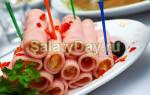 Рецепты закусок на фуршет на праздничный стол