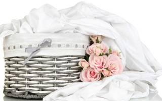 Как стирать белое и цветное постельное белье