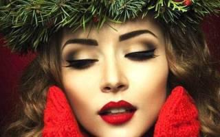 Стильный новогодний макияж 2020: яркие идеи для торжества