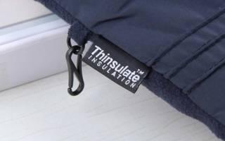 На какую температуру рассчитан тинсулейт и как за ним ухаживать?