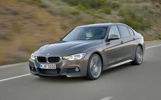 Новая BMW 3-series 2020 года