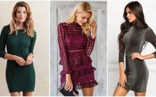 Модные платья: тенденции и фасоны осенне-зимнего сезона 2020