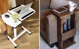 Красивый и удобный диванный столик