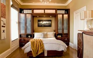 5 идей для оформления спальни в панельке