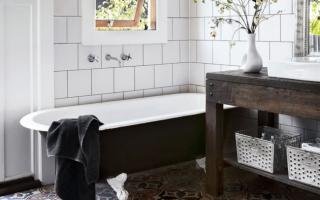 Как обновить ванную комнату без капитального ремонта: 7 способов