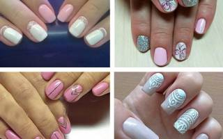 Стильные рисунки на ногтях: Осень