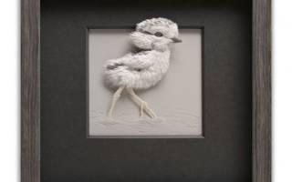 Гиперреалистичные скульптуры животных из бумаги