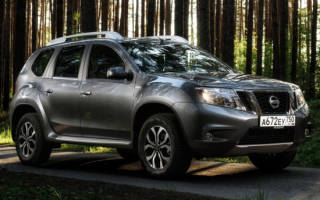 Обзор Nissan Terrano 2020