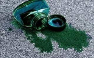 Как отстирать зеленку на одежде: эффективные народные методы и чистящие средства, выводим свежие и застарелые пятна