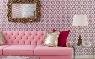 Розовый цвет винтерьере: яркие примеры исоветы дизайнеров