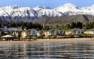 Лучшие варианты отдыха на берегу озера Иссык-Куль в 2020