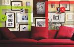 Как развешивать фото, картины и постеры: 5 основных правил